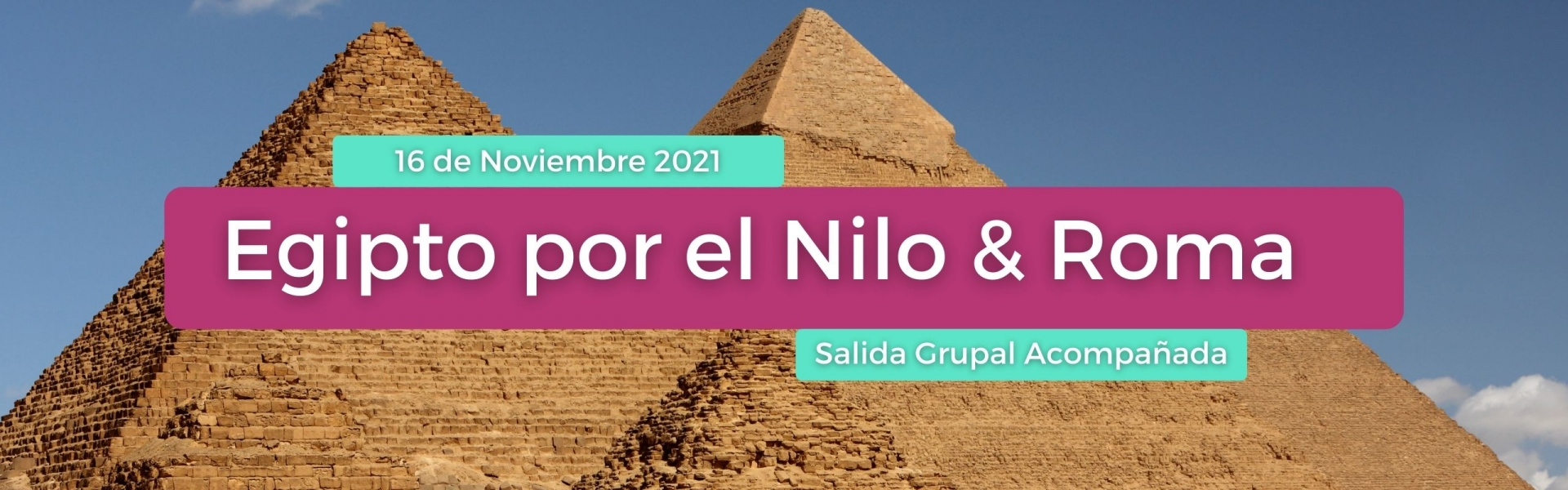 Egipto por el Nilo & Roma