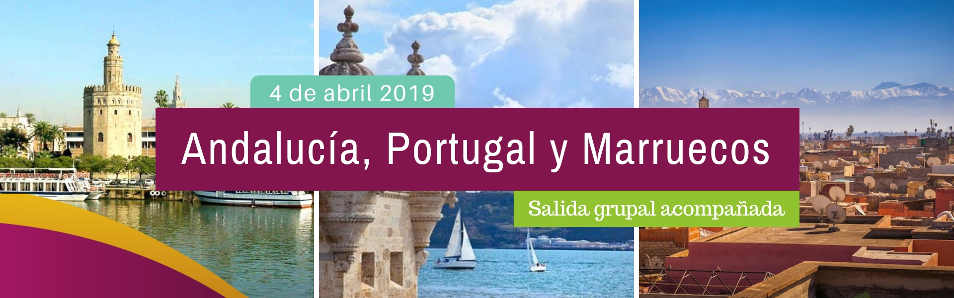 Andalucia, Portugal y Marruecos - 4 de Abril de 2019